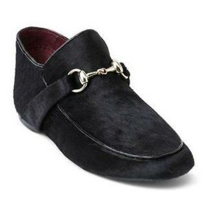 Kensie Beatle Calf Hair Loafers